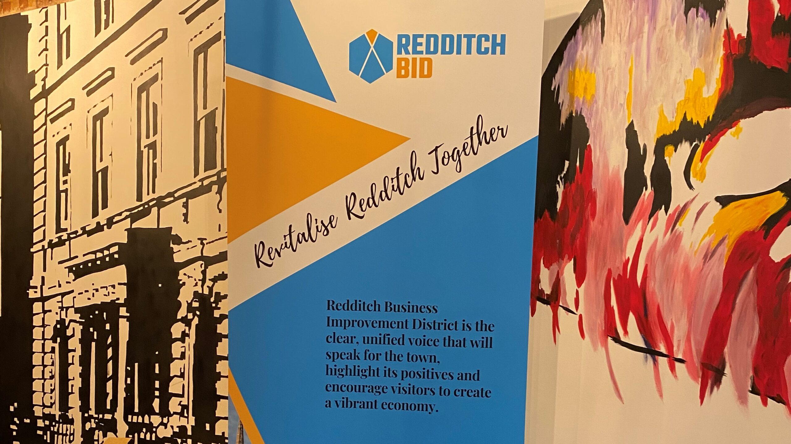 Redditch BID brings business community together at its first networking event